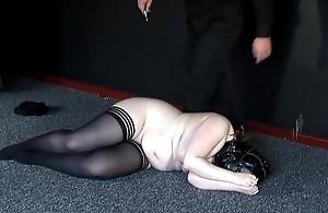 Bizarre Castigation for Chubby Amateur Slavegirl