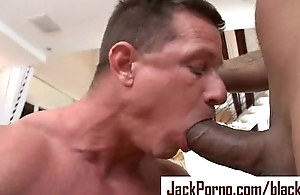 Giant Black Load of shit - Gay InterRacial Hardcore Light of one's life - clip 31