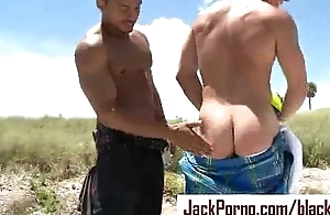 Giant Blackguardly Cock - Gay InterRacial Hardcore Fuck - strengthen 03