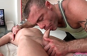 Blue-eyed hotty acquires sensitive massage 3 Apart from GotRub