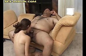 BJ and Have sex with a Chub