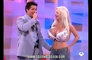 Sabrina Sabrok Biggest Boobs Supernova