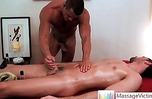 Nice skeletal dude gets gay massage 5 by MassageVictim