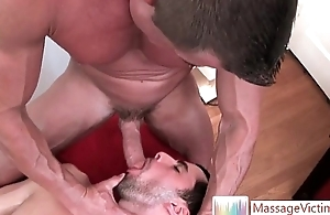 Nice shrunken coxcomb gets gay massage 6 apart from MassageVictim