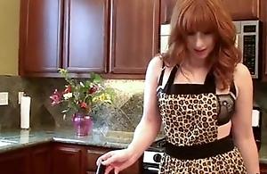 Redhead Milf Fucks Her Own Pussy