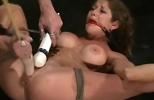 felony acquires her pussy drilled with a sex toy and is made to squirt