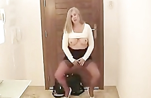British MILF Wife Arrives Home From Work In Quite Fashioned Pile