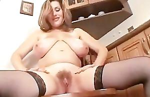 hot convincing girl masturbates