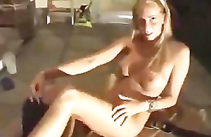 Tall German Beauteous Balcony Fuck