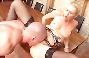 German Porn: Boss Acquires a Giving Blarney