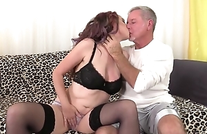 Zoe Matthews sucks and fucks lover's cock until squarely explodes