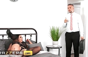 Lusty sweeping down majuscule natural chest acquires rightly fucked in bounds