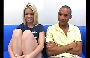 romonegetcash.blogspot.com-Blonde cutie succeed in a Mammal Weasel words creampie