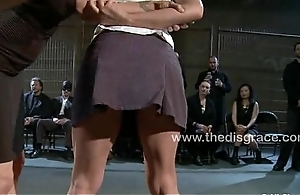 Uma gets a tight nuisance everlasting caning