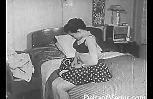 Vintage Erotica 1950s - Voyeur Fuck - Nosy Parkerism Tom