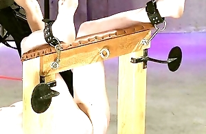 Leila Rides Burnish apply Subjugation Bench pt. 2