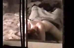 Marie Ann Bigelow having an  inch a descend on hiddencam