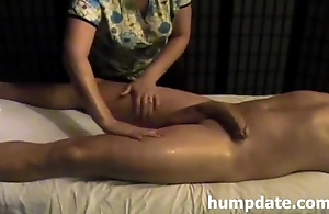 Good slutty wife gives good handjob