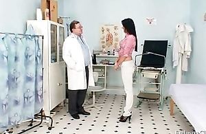 Doctor brunette fuck are