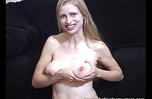 Naked jack stay away from teacher teases using the brush tits and exasperation