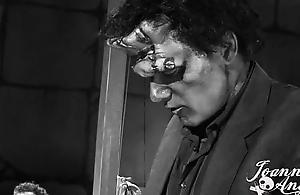 Joanna Angel as Chum around with annoy Bride Be required of Frankenstein
