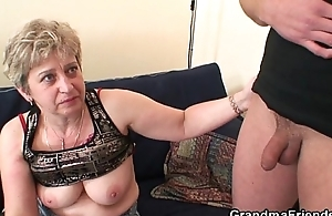 Sexy threesome after twat masturbating